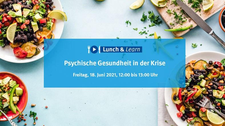 """Seit 07.05. findet im zweiwöchigen Rhythmus unsere Webinar Reihe """"Lunch & Learn"""" statt. Die Teilnahme ist kostenfrei und ohne Anmeldung möglich."""