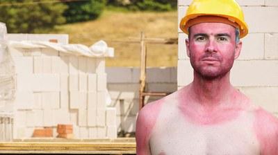 """(10.06.2021) Der Sommer steht vor der Tür und die lang ersehnte Sonne erfreut alle. Doch intensive UV-Strahlung kann bei Arbeiten im Freien schnell zur Gefahr werden. Was ist der Unterschied zwischen UV-A- und UV-B-Strahlung? Welches UV-Schutzmittel ist für meine Haut geeignet? Und, was ist eigentlich weißer Hautkrebs und ist dieser heilbar? Die Berufsgenossenschaft Energie Textil Elektro Medienerzeugnisse (BG ETEM) klärt in der aktuellen Ausgabe der Versichertenzeitschrift """"impuls"""" über die vier wichtigsten Fakten zum Thema UV-Strahlung auf und gibt hilfreiche Tipps für präventive Maßnahmen."""