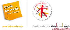 Logokombination Denk an mich - GDA