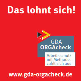Das lohnt sich: GDA-ORGAcheck