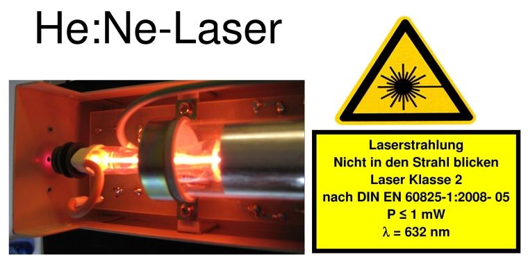 HE:NE-Laser